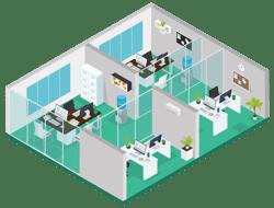 Oficinas Built to Suit